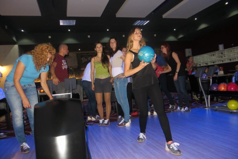 2014 / september _ Teambuilding bowling